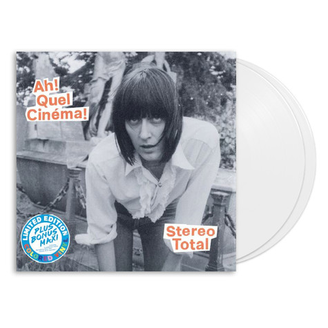 Stereo Total - Ah! Quel Cinéma! HHV Exclusive White Vinyl Deluxe Edition
