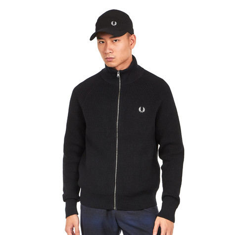 Fred Perry - Ribbed Knitted Track Jacket