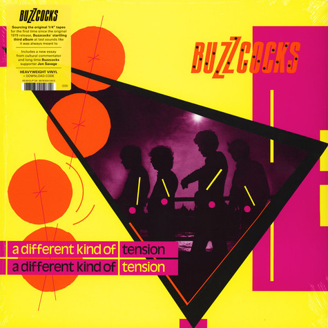 Buzzcocks - A Different Kind Of Tension Black Vinyl Edition