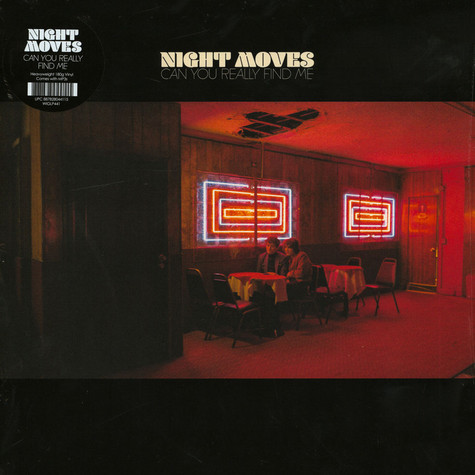 Night Moves - Can You Really Find Me Black Vinyl Edition