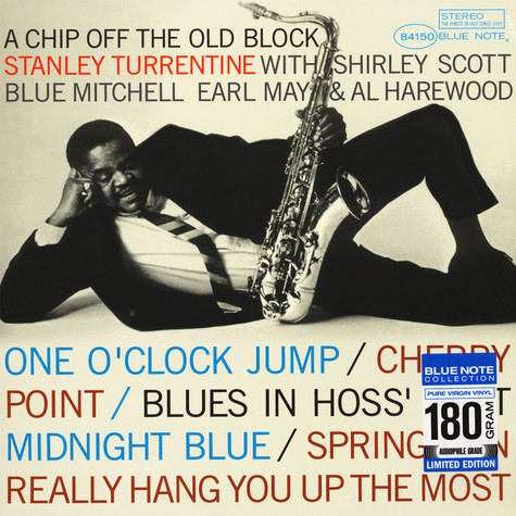 Stanley Turrentine - A Chip Off The Old Block Limited 180g Audiophile Edition