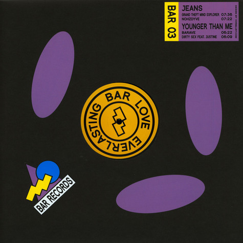 Jeans / Younger Than Me - Bar Records 03