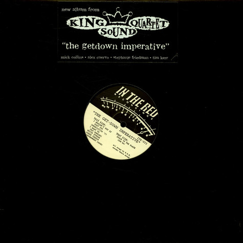 King Sound Quartet - The Getdown Imperative