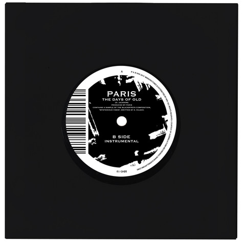 Paris - The Days Of Old / Instrumental