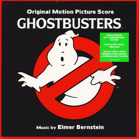 Elmar Bernstein - OST Ghostbusters Score Limited White & Green Vinyl Edition