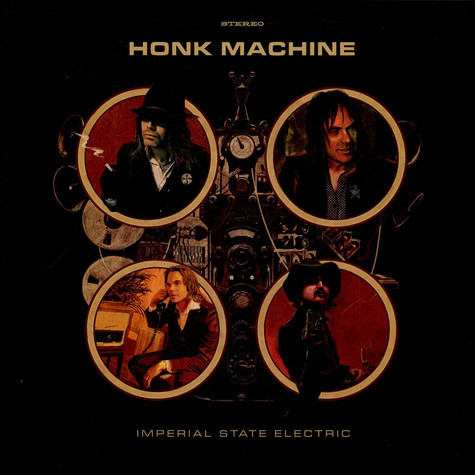 Imperial State Electric - Honk Machine Brown Vinyl Edition