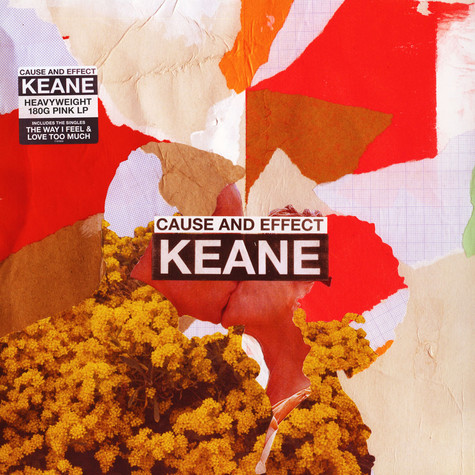 Keane - Cause And Effect Pink Vinyl Edition