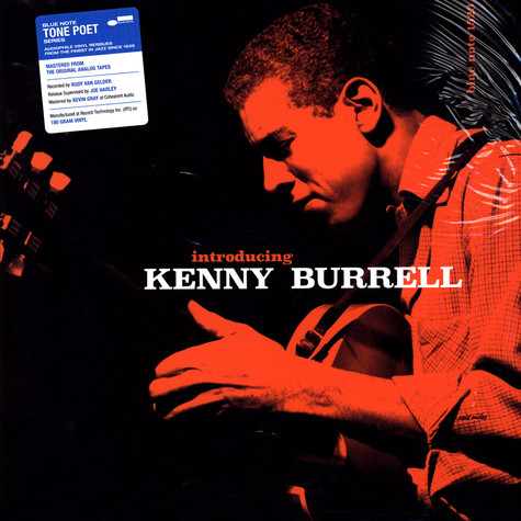 Kenny Burrell - Introducing Kenny Burrell Tone Poet Vinyl Edition
