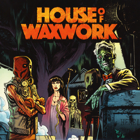 "House Of Waxwork - Issue 3 Featuring Necropants 7"" Single Orange Or Blue Vinyl Edition"