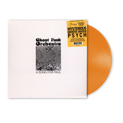Ghost Funk Orchestra - A Song For Paul HHV EU Exclusive Gold Vinyl Edition