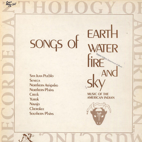 Charlotte Heth - Songs Of Earth Water Fire And Sky - Music Of The American Indian