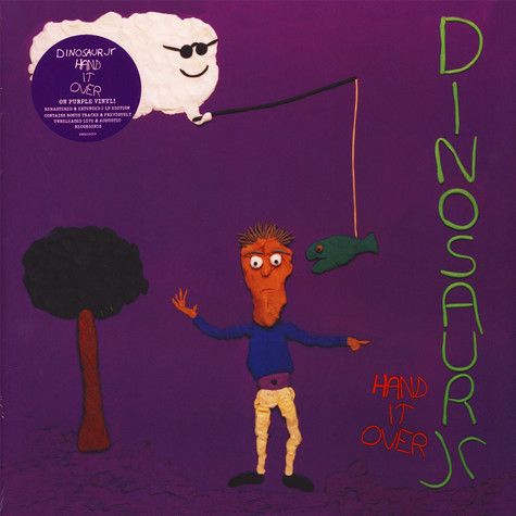 Dinosaur Jr. - Hand It Over Deluxe Expanded Gatefold Purple Vinyl Edition