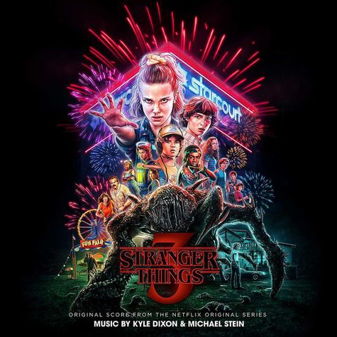 Kyle Dixon & Michael Stein - OST Stranger Things 3 Score From The Netflix Series Colored Vinyl Edition
