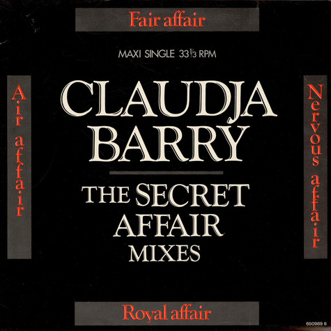 Claudja Barry - Secret Affair