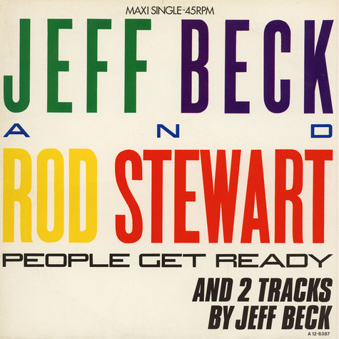 Jeff Beck And Rod Stewart - People Get Ready