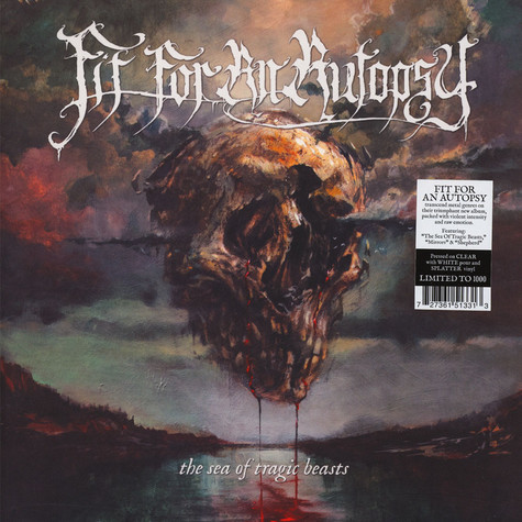 Fit For An Autopsy - The Sea Of Tragic Beasts Splatter Vinyl Edition