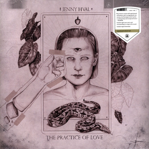 Jenny Hval - The Practice Of Love Sand Colored Vinyl Edition