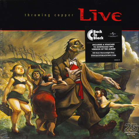 Live - Throwing Copper 25th Anniversary Edition