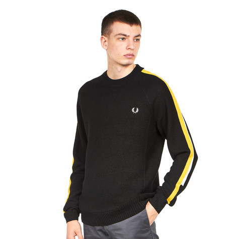 Fred Perry - Broken Tipped Overarm Crew Neck Jumper