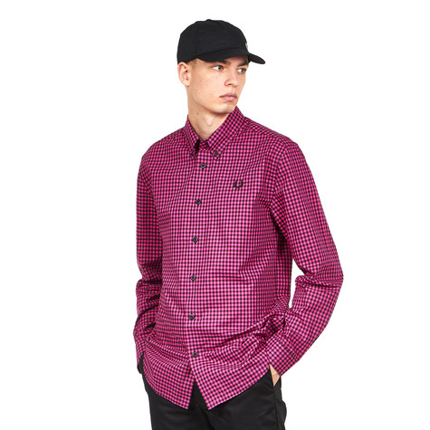 Fred Perry - Two Colour Gingham Shirt
