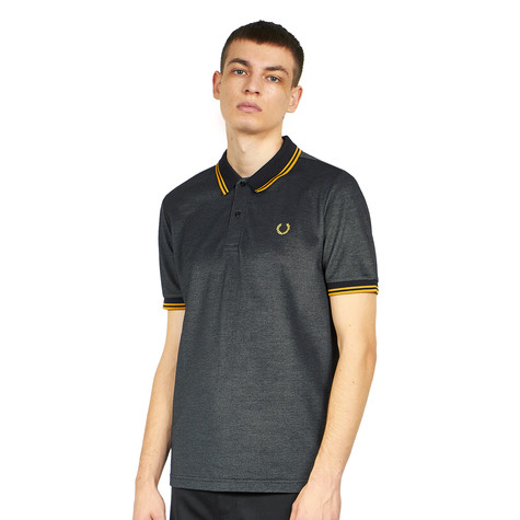 Fred Perry x Miles Kane - Two Tone Tipped Pique Shirt