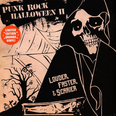 V.A. - Punk Rock Halloween II - Louder, Faster & Scarier Orange Vinyl Edition