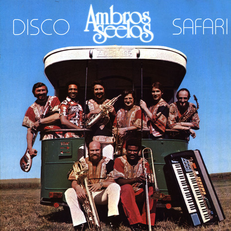 Ambros Seelos - LP 2 Disco Safari Multicolored Vinyl Edition