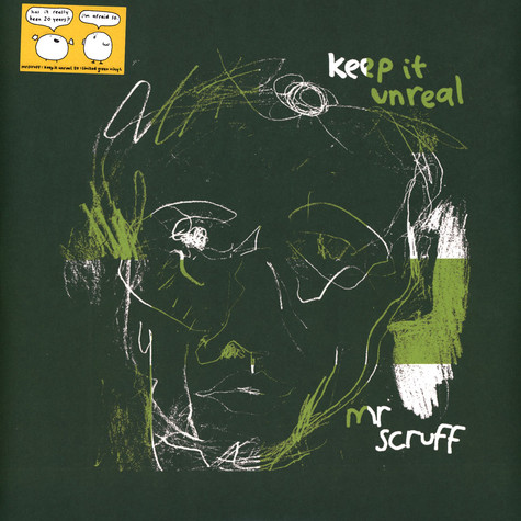 Mr.Scruff - Keep It Unreal 20th Anniversary Green Vinyl Edition