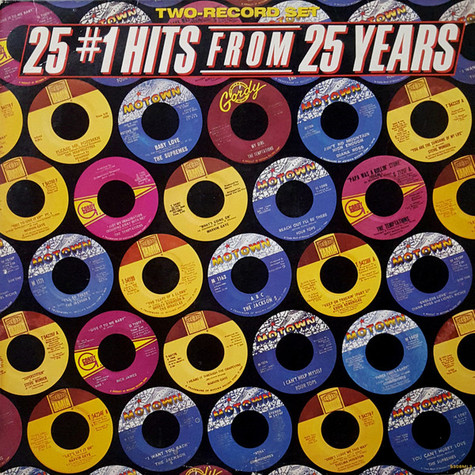 V.A. - 25 #1 Hits From 25 Years