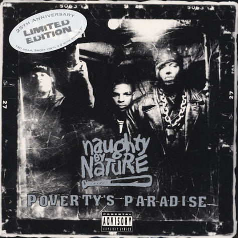 Naughty By Nature - Poverty's Paradise 25th Anniversary Edition Black Friday Record Store Day 2019 Edition