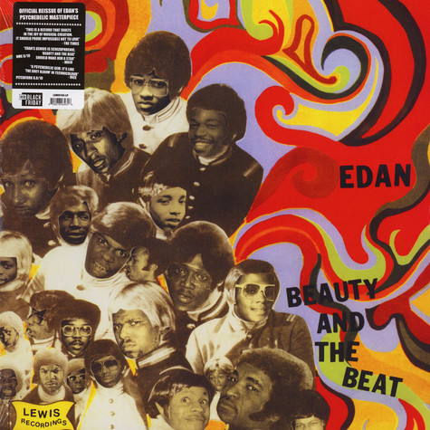 Edan - Beauty And The Beat Black Friday Record Store Day 2019 Edition