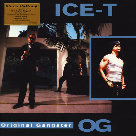 Ice-T - O.G. Original Gangster Coloured Vinyl Edition