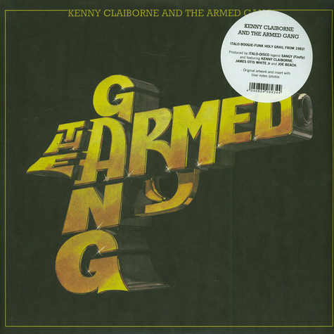 Armed Gang, The - Kenny Clairborne And The Armed Gang Black Vinyl Edition