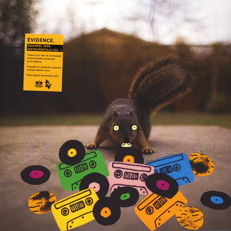 Evidence - Squirrel Tape Instrumentals Volume 1