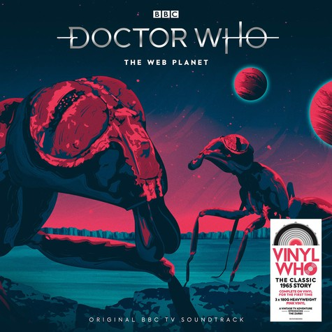 Doctor Who - The Web Planet Pink Vinyl Edition