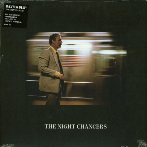 Baxter Dury - The Night Chancers Cristal Clear Vinyl Edition