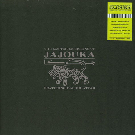 Master Musicians Of Jajouka, The - Apocalypse Across The Sky Feat. Bachir Atta