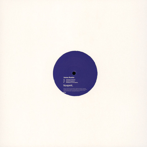 James Ruskin - Consumer Patterns Blue Vinyl Edition