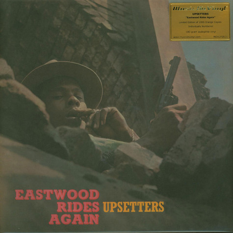 Upsetters, The - Eastwood Rides Again Limited Numbered Orange Vinyl Edition