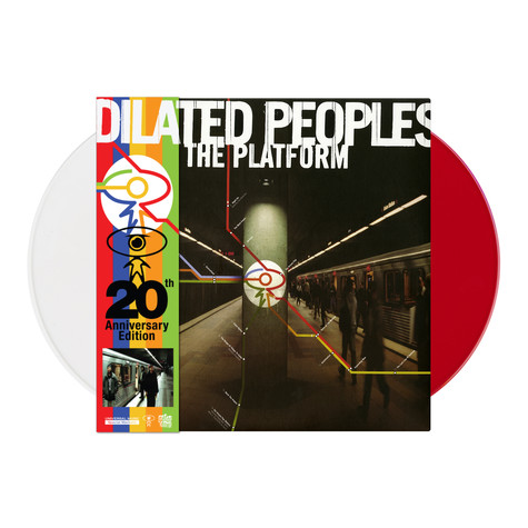 Dilated Peoples - The Platform 20th Anniversary Get On Down x HHV Exclusive White & Red Vinyl Edition