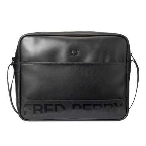 Fred Perry - Embossed PU Shoulder Bag