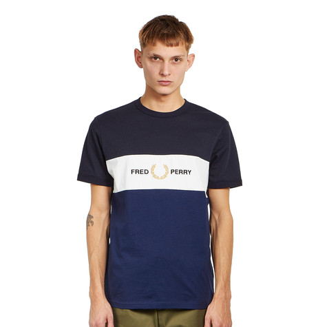 Fred Perry - Embroidered Panel T-Shirt