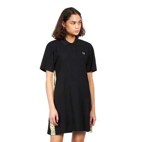 Fred Perry - Pique Dress With Floral Print