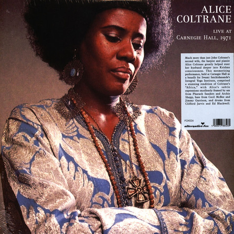 Alice Coltrane - Africa - Live At The Carnegie Hall 1971