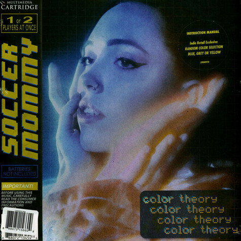 Soccer Mommy - Color Theory Yellow, Gray, Blue Vinyl Indie Exclusive Edition