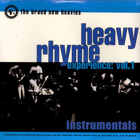 Brand New Heavies, The - Heavy Rhyme Experience: Vol. 1 Instrumentals