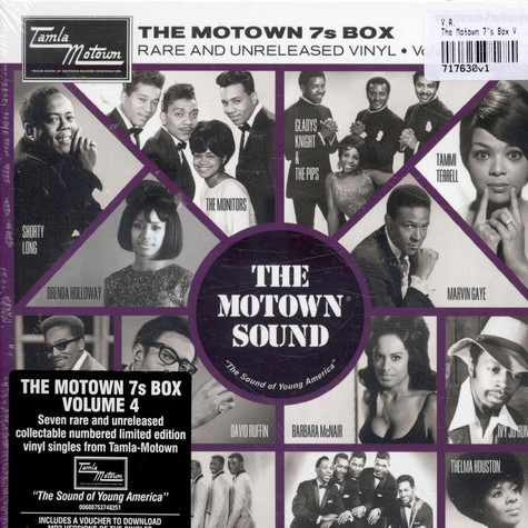 "V.A. - The Motown 7""s Box Volume 4"