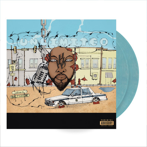 K-Mack - UnLimited Colored Vinyl Edition