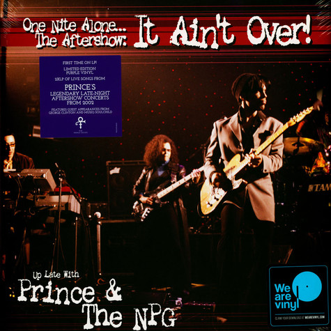 Prince & The New Power Generation - One Nite Alone...The Aftershow: It Ain't Over! (Up Late With Prince & The NPG) Purple Edition