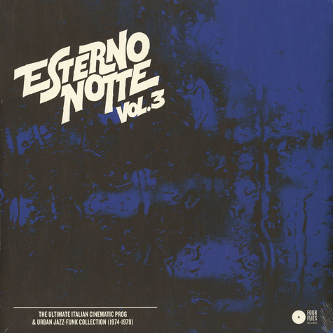 V.A. - Esterno Notte Volume 3 - The Ultimate Italian Cinematic Prog & Urban Jazz-Funk Collection (1974-1979)